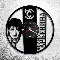 Настенные часы из пластинки, группа Ночные Снайперы Диана Арбенина, подарок фанатам, любителям, 0618