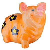 Копилка / статуэтка, керамическая свинка / поросенок / свинья, 20*19*15 см