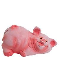 Копилка / статуэтка, керамическая свинка / поросенок / свинья, 13*27*17 см