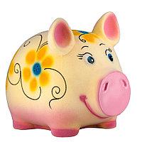 Копилка / статуэтка, керамическая свинка / поросенок / свинья, 18*20*14 см