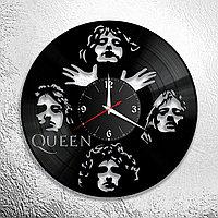 Часы из пластинки, группа Квин Фредди Меркьюри Queen Freddie Mercury, подарок фанатам, любителям, 0700