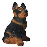 Копилка / статуэтка, керамическая собака Немецкая овчарка, 32*26*18 см
