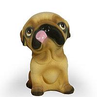 Копилка / статуэтка, керамическая собака Щенок 21 см