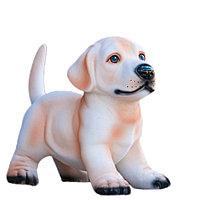 Копилка / статуэтка, керамическая собака щенок, 22 см