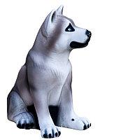 Копилка / статуэтка, керамическая собака Хаски, высота 36 см