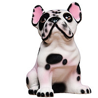 Копилка / статуэтка, керамическая собака Французский бульдог, высота 23 см