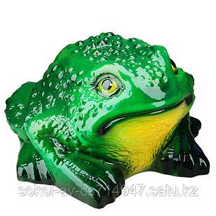 Садовая фигура Лягушка (жаба), декор, фигурка, скульптура для сада, керамическая, ландшафтная, 19*31*28 см