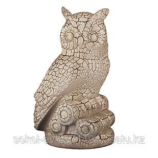 Садовая фигура Сова, декор, фигурка, скульптура для сада, керамическая, ландшафтная, 27*17*18 см