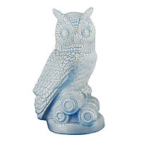 Садовая фигура Сова, декор, фигурка, скульптура для сада, керамическая, ландшафтная, 27*17*18 см, 00