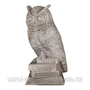 Садовая фигура Сова, декор, фигурка, скульптура для сада, керамическая, ландшафтная, 32*13*15 см, 003