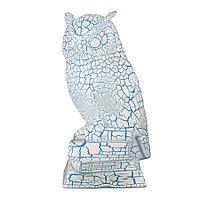 Садовая фигура Сова, декор, фигурка, скульптура для сада, керамическая, ландшафтная, 32*13*15 см, 005