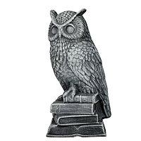 Садовая фигура Сова, декор, фигурка, скульптура для сада, керамическая, ландшафтная, 32*13*15 см, 006