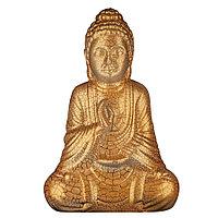Садовая фигура Будда, декор, фигурка, скульптура для сада, керамическая, ландшафтная, 27*18*11 см, 01