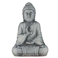 Садовая фигура Будда, декор, фигурка, скульптура для сада, керамическая, ландшафтная, 27*18*11 см, 02