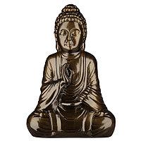 Садовая фигура Будда, декор, фигурка, скульптура для сада, керамическая, ландшафтная, 27*18*11 см, 04