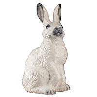Садовая фигура Заяц / Кролик, декор, фигурка, скульптура для сада, керамическая, ландшафтная, 40*23*21 см, 01