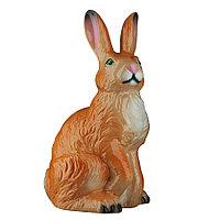 Садовая фигура Заяц / Кролик, декор, фигурка, скульптура для сада, керамическая, ландшафтная, 40*23*21 см, 02
