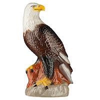 Садовая фигура Птица орел, декор, фигурка, скульптура для сада, керамическая, ландшафтная, 38*22*15 см, 01