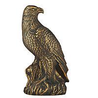 Садовая фигура Птица орел, декор, фигурка, скульптура для сада, керамическая, ландшафтная, 38*22*15 см, 03