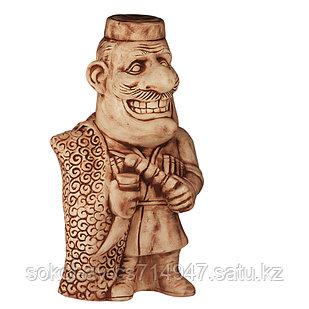 Садовая фигура Человек кавказ, декор, фигурка, скульптура для сада, керамическая, ландшафтная, 40*21*18 см, 03