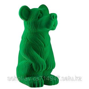 Садовая фигура Медведь, декор, фигурка, скульптура для сада, керамическая, ландшафтная, 39*21*20 см, 03