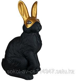 Садовая фигура Заяц / Кролик, декор, фигурка, скульптура для сада, керамическая, ландшафтная, 40*23*21 см, 11