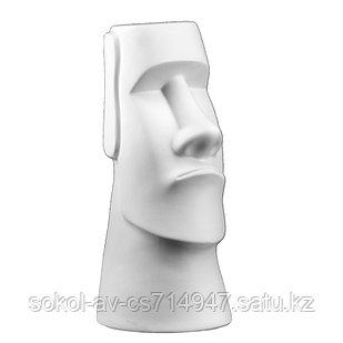 Садовая фигура Истукан Моаи, декор, фигурка, скульптура для сада, керамическая, ландшафтная, 41*18*20 см, 04