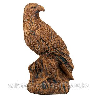 Садовая фигура Птица орел, декор, фигурка, скульптура для сада, керамическая, ландшафтная, 38*22*15 см, 07