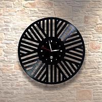 Настенные часы из пластинки, лофт, винтаж, ретро, в офис, кухню, коридор, гараж, комнату, 0421