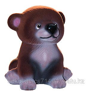 Копилка / статуэтка керамическая Медвежонок, высота 21 см, 001