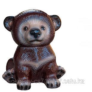 Копилка / статуэтка керамическая Медвежонок, высота 21 см, 003