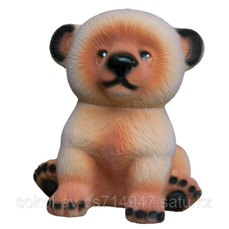 Копилка / статуэтка керамическая Медвежонок, высота 21 см, 005