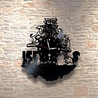 Настенные часы из пластинки, Ледниковый период ice age, подарок фанатам, любителям, 0401
