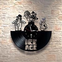 Настенные часы из пластинки, Ice age, ледниковый период, детям в детскую комнату, 0238