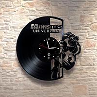 Настенные часы пластинки, Корпорация монстров Monsters, Inc. детям в детскую комнату 0399