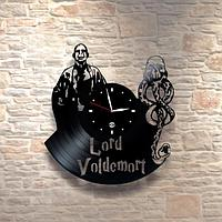 Настенные часы из пластинки, Гарри Поттер Harry Potter, подарок фанатам, любителям, 0371