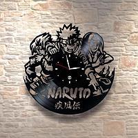 Настенные часы из пластинки, Naruto, детям в детскую комнату, 0268
