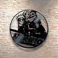 Настенные часы из пластинки, Наруто NARUTO, детям в детскую комнату, 0440