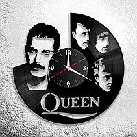Часы из пластинки, группа Квин Фредди Меркьюри Queen Freddie Mercury, подарок фанатам, любителям, 1215