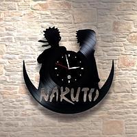 Настенные часы из пластинки, Naruto, детям в детскую комнату, 0267