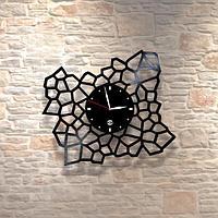 Настенные часы из пластинки, лофт, винтаж, ретро, в офис, кухню, коридор, гараж, комнату, 0521