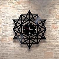 Настенные часы из пластинки, лофт, винтаж, ретро, в офис, кухню, коридор, гараж, комнату, 0514