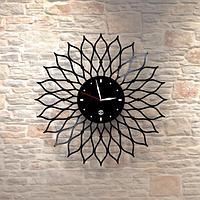 Настенные часы из пластинки, лофт, винтаж, ретро, в офис, кухню, коридор, комнату, 0416