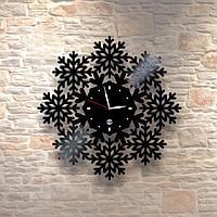 Настенные часы из пластинки, лофт, винтаж, ретро, в офис, кухню, коридор, гараж, комнату, 0508