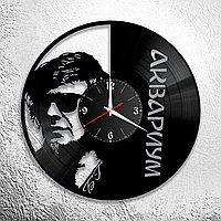 Настенные часы из пластинки, группа Аквариум Борис Гребенщиков, подарок фанатам, любителям, 0575