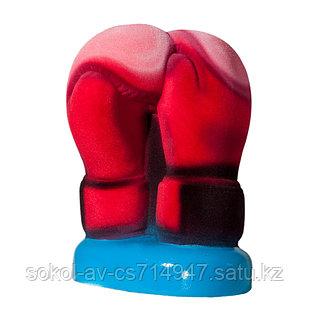 Статуэтка Hand Made Бокс, подарок боксеру, тренеру, фанатам любителям бокса, 24 см