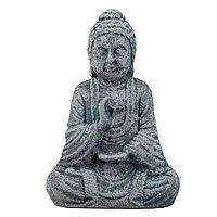 Статуэтка Будда The Buddha, подарок буддисту, керамика, 26*17*9,5 см, серый