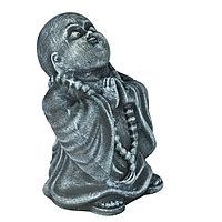 Статуэтка Буддист The Buddha, подарок буддисту, керамика, 24*16*15 см, серый