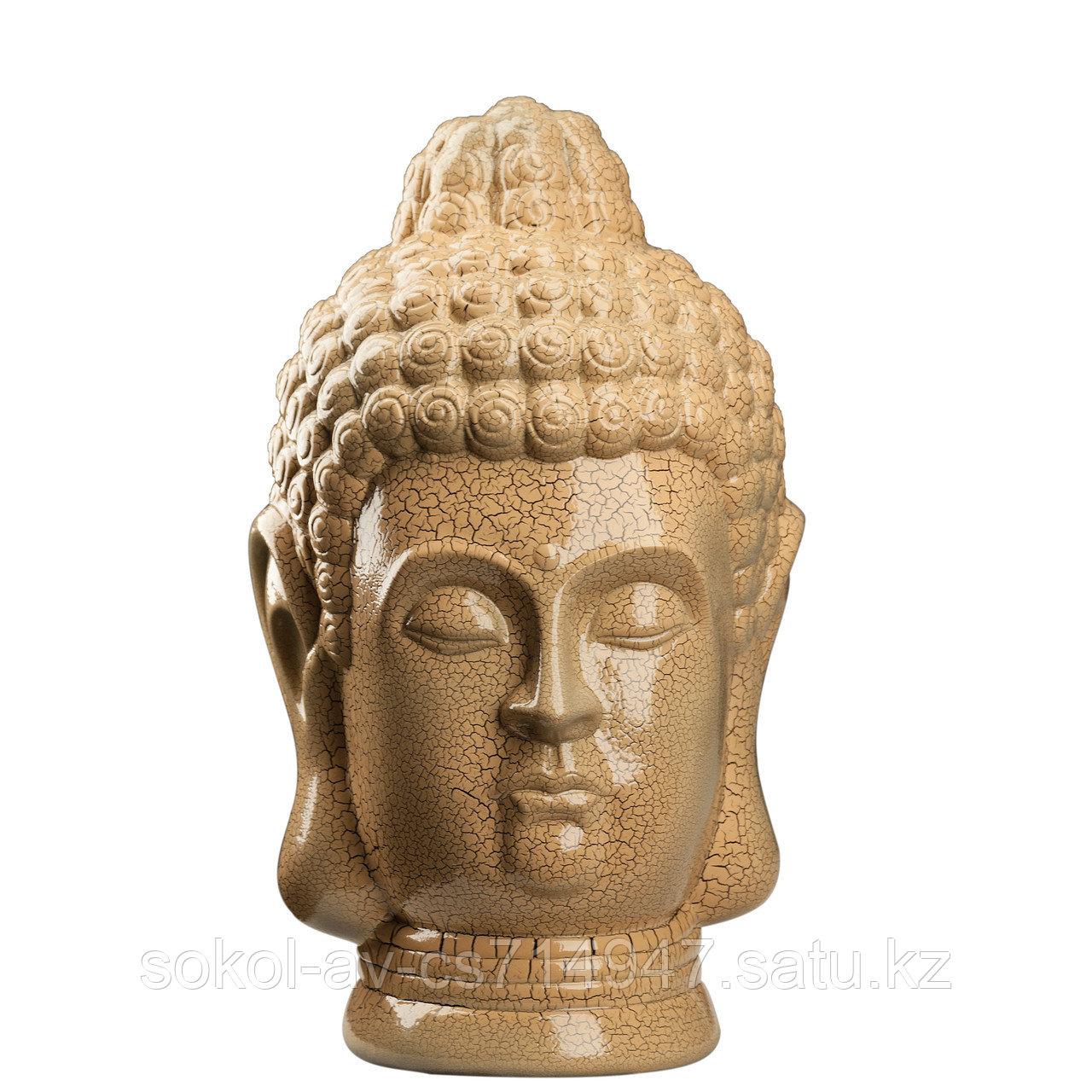Статуэтка Будда The Buddha, подарок буддисту, керамика, 31*19*19 см, беж