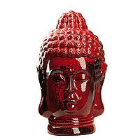 Статуэтка Будда The Buddha, подарок буддисту, керамика, 31*19*19 см, красный